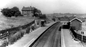 An image of Arkwright Railway station, courtesy of Mr Tony Harden.