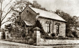 An old image of Babbington Chapel that would have been known to the Richards.