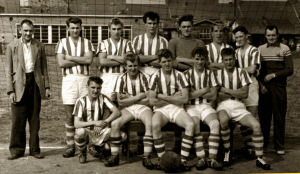 An image of Hillstown Miners Welfare F.C. - 1960s. Image courtesy of Ms. Emma West.
