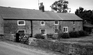 This 1990s image of the former Haslam cottage at Stony Houghton, built c.1820 and previously owned by the Duke of Devonshire, before being purchased by George Haslam. My Haslam ancestors rented this cottage from the Duke for more than 100 years, part of the tenancy agreement being that they worked on one of his farms in the hamlet.