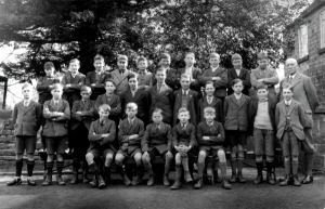 Another image of Stainsby school pupils 1931. The Headmaster in the image is Mr. Reuben Fletcher.