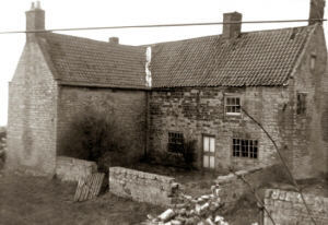 The former Middle Farm prior to demolition c.1973/74.