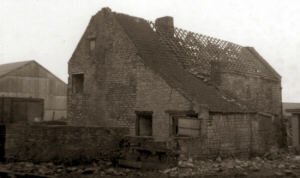Another view of the old Middle Farm prior to demolition in 1973/74.