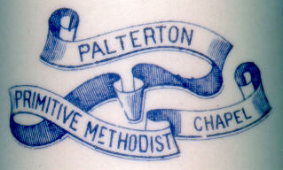 Palterton Primitive Methodist Chapel Logo.